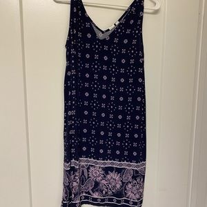 Purple Dress from the Gap